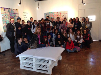 visita da Escola Municipal de Ensino Básico Dulce de Moraes, Esteio/RS