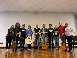apresentação de abertura: Conjunto de Violões do Projeto Prelúdio (IFRS) | Coord. Profa. Thaís Nascimento