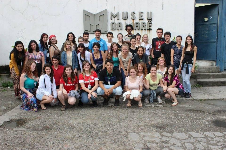 primeira turma de Gestão Cultural a realizar a Saída de Campos para Minas Gerais/Rio de Janeiro