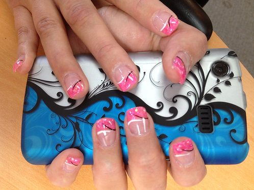 Acrylic Nails Full Set Regular Color