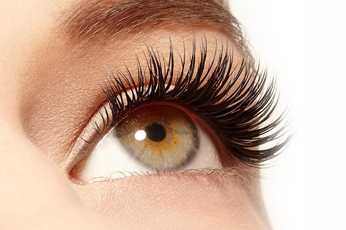 Eyelash Extension Full Set (300-350 individual lashes)