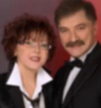 Александр Тиханович и Ядвига Поплавская