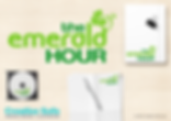 Emerald Hour Logo Design