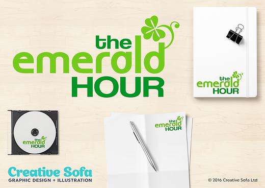 Emerald Hour Logo Design