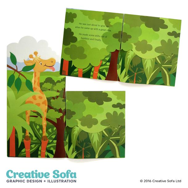Stilts Children's Book Spread