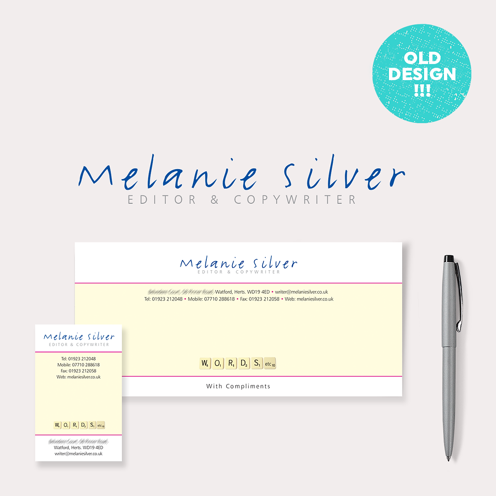 Previous Stationery Design – Melanie Silver Copy Writer