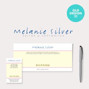Previous Stationery Design – Melanie Silver Copy Writer