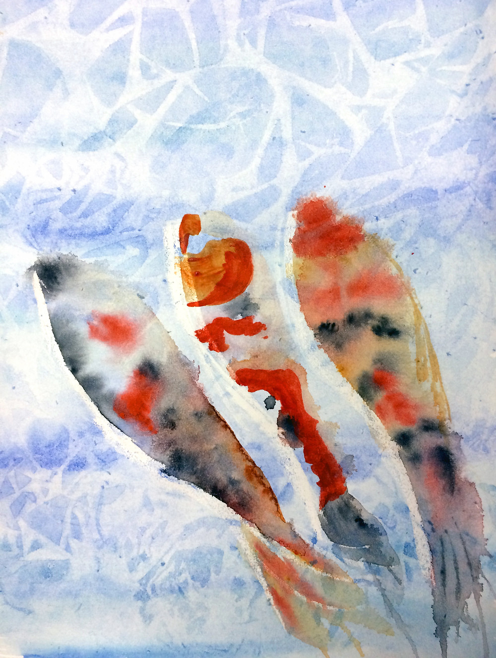 Water colour fish