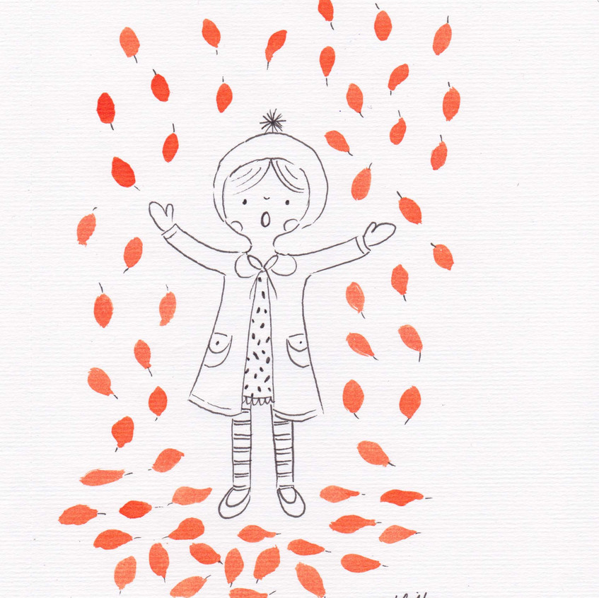 13 Nov. Leaves Sketch Challenge