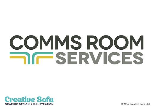 Comms Room Logo Design