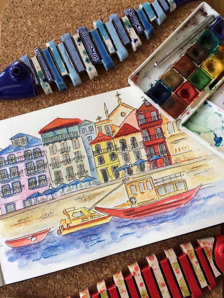 Urban Sketching Douro