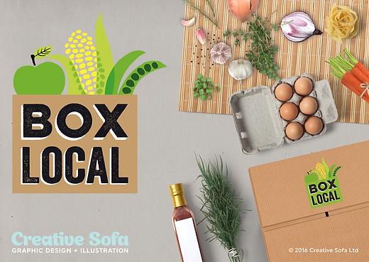 Box Local Logo Design