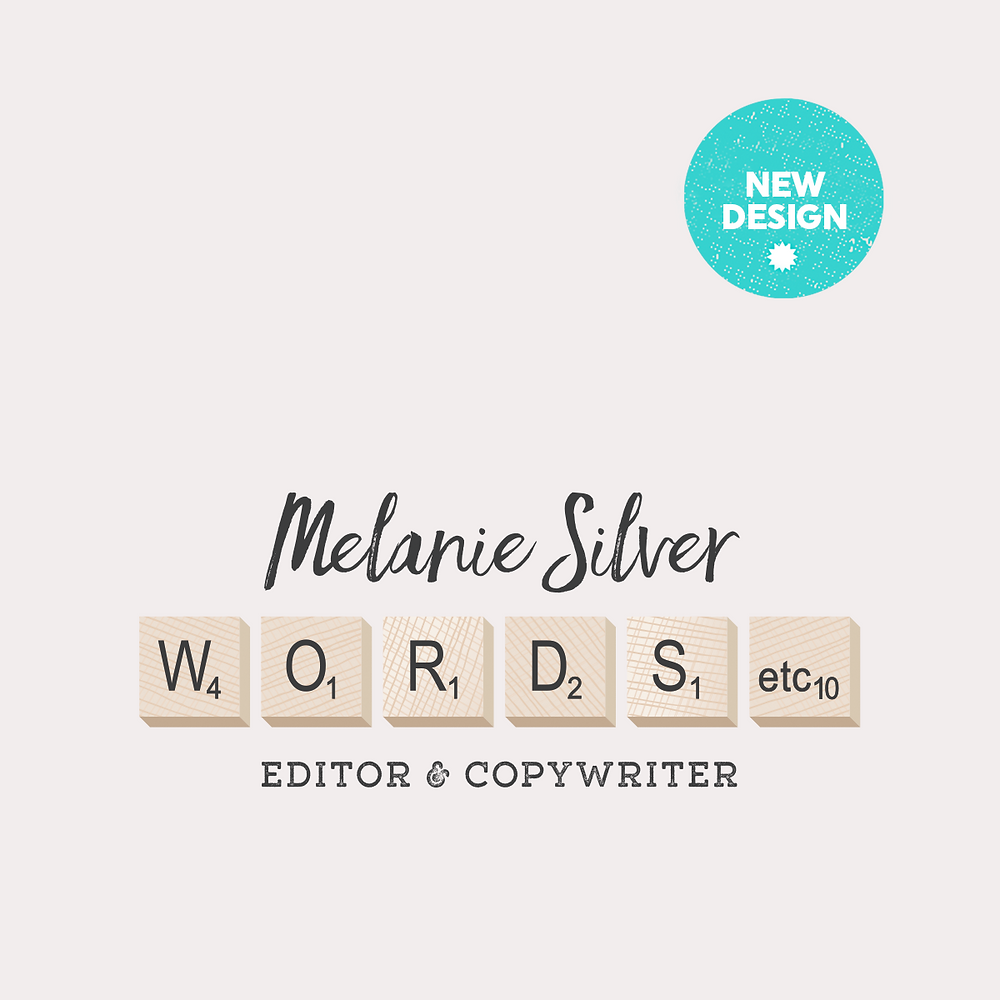 New Logo Design – Melanie Silver Copy Writer