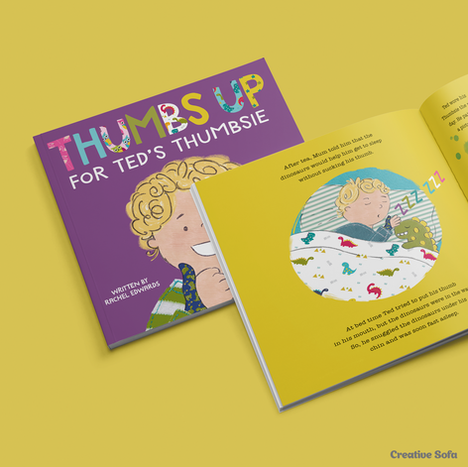 Book Design & Illustration for Thumbsie®