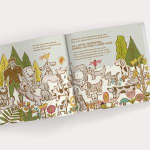 'Troop of Dogs' Children's Book illustration