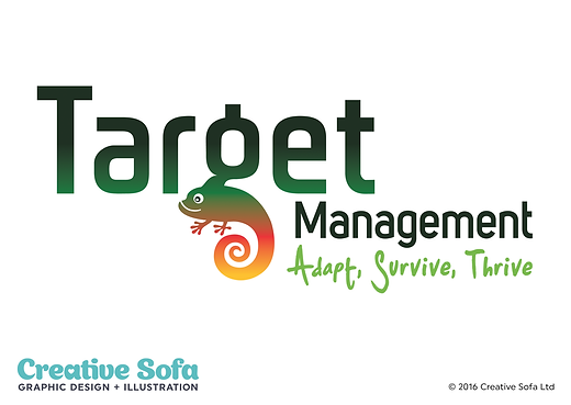 Target Management Logo Design