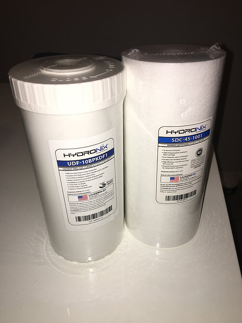 WHOLE HOUSE WATER FILTER REPLACEMENT KIT FOR HRV