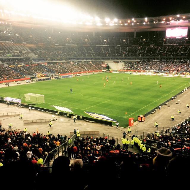 Photo de Marine au stade de France