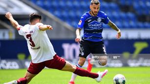 Vidéo : le but de Jonathan Clauss contre le Dynamo Dresde