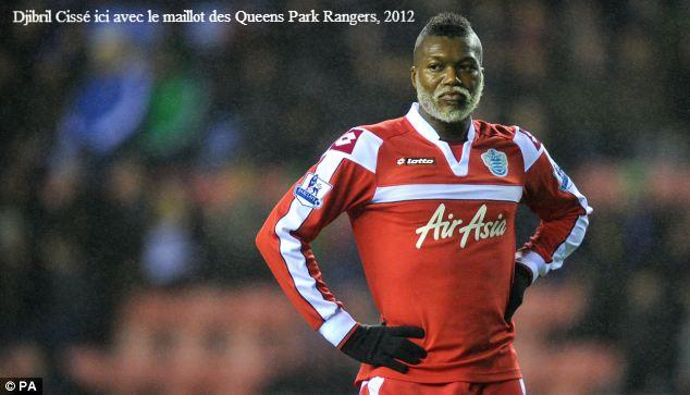Djibril Cissé ici avec le maillot des Queens Park Rangers