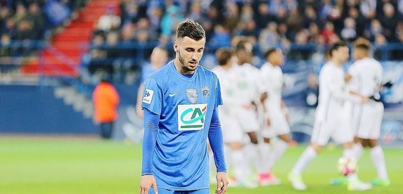 Jonathan Clauss, contre le PSG