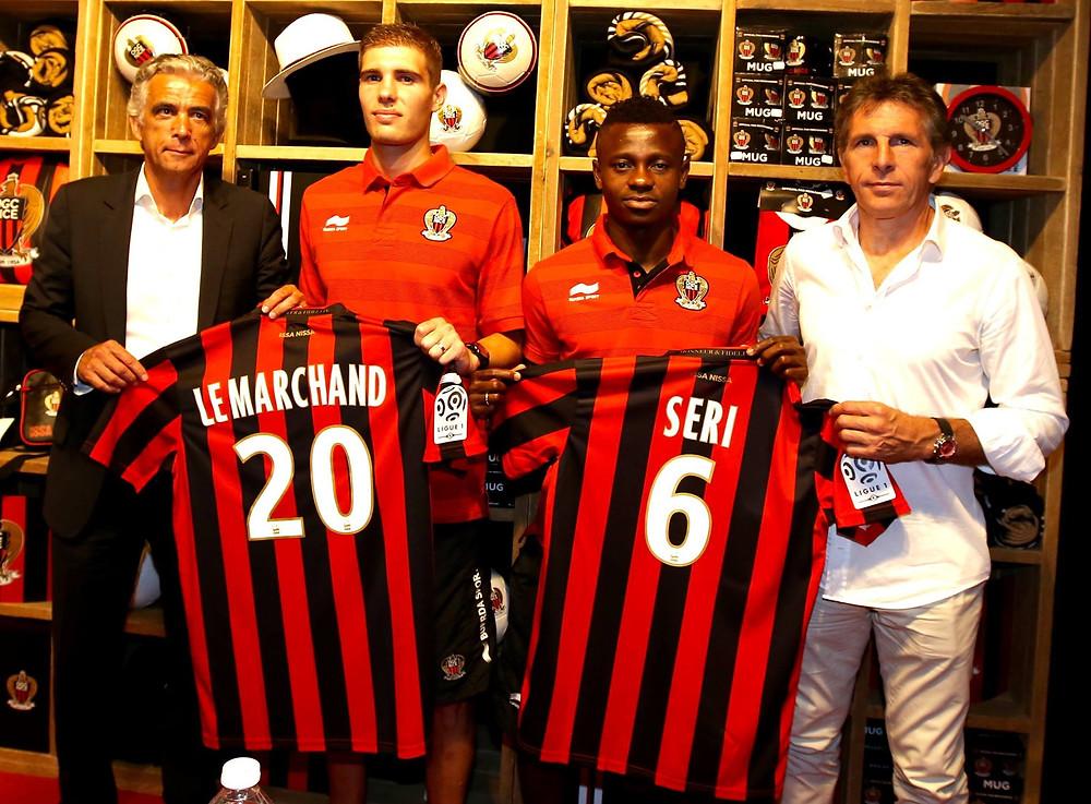 Photo : Page officielle de l'OGC Nice
