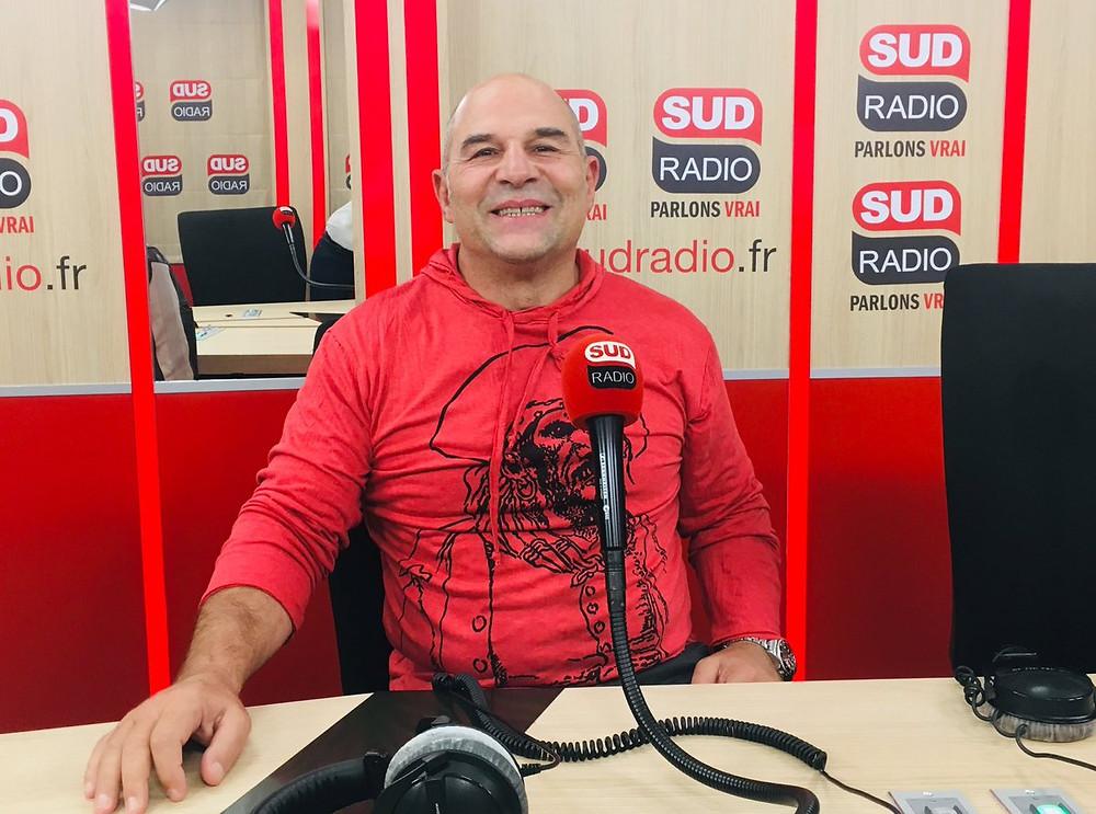 Vincent sur Sud Radio (Crédit : Sud Radio)
