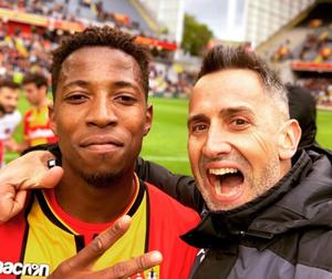 Cyril Jamet et Simon Banza - Compte Instagram de Cyril Jamet