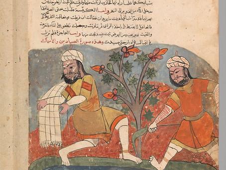 Workshop mit Rosa- Park-Schule im Museum für islamische Kunst