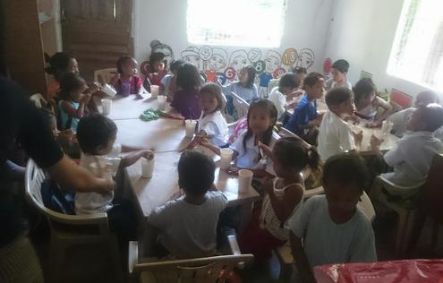 K3 School Class in the community