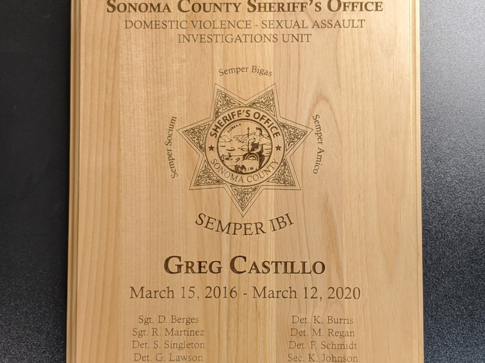 Engraved Wood Plaques