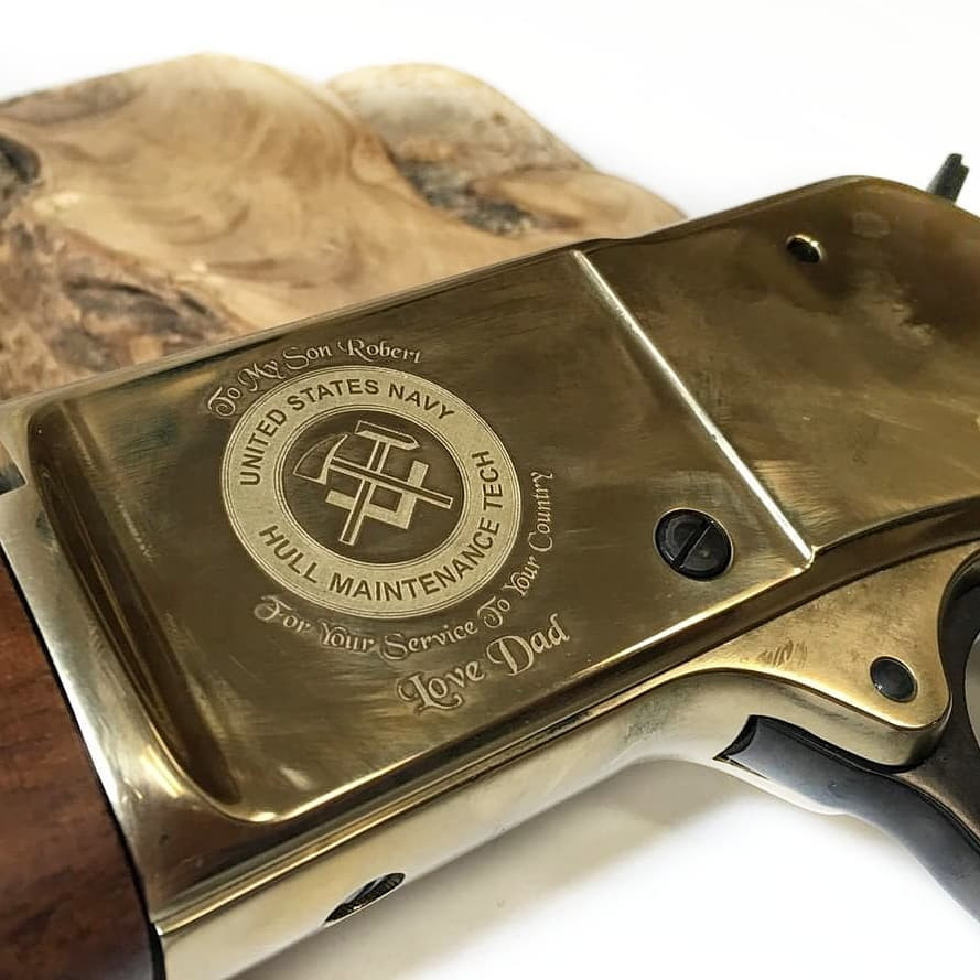 Lever Action Henry Rifle Engraving   Rochester, NY