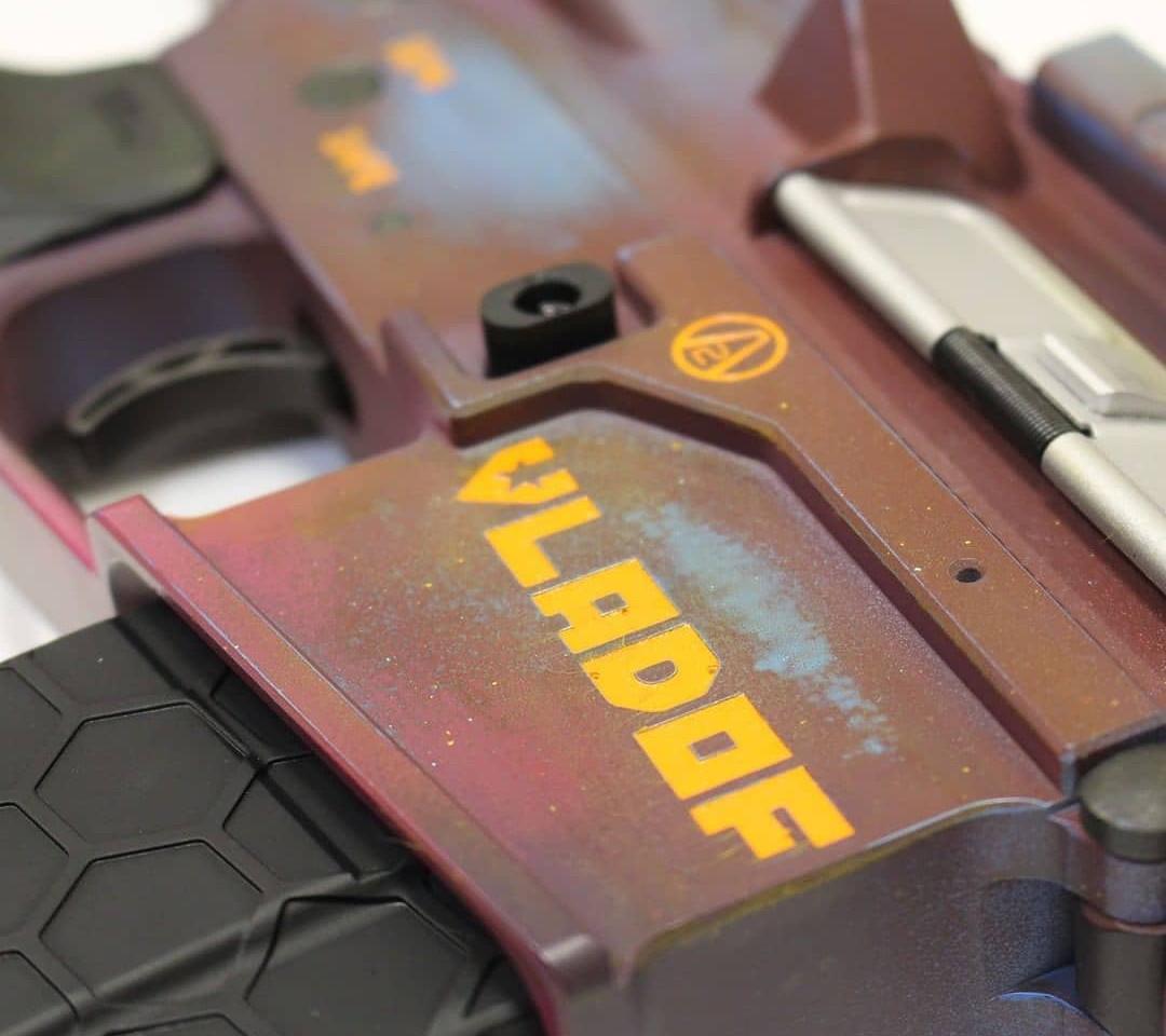 Borderlands Themed Gun Engraving   Rochester, NY Engraver