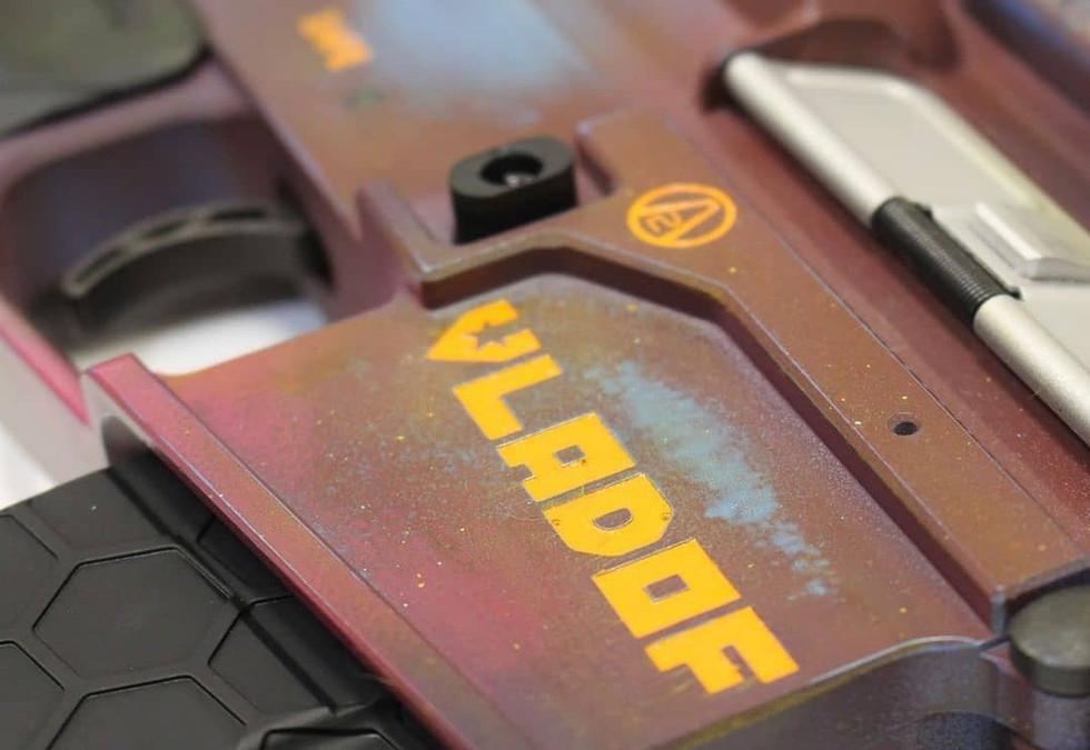Borderlands Themed Gun Engraving | Rochester, NY Engraver