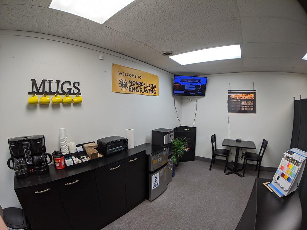 Monroe Laser Engraving - Customer Area