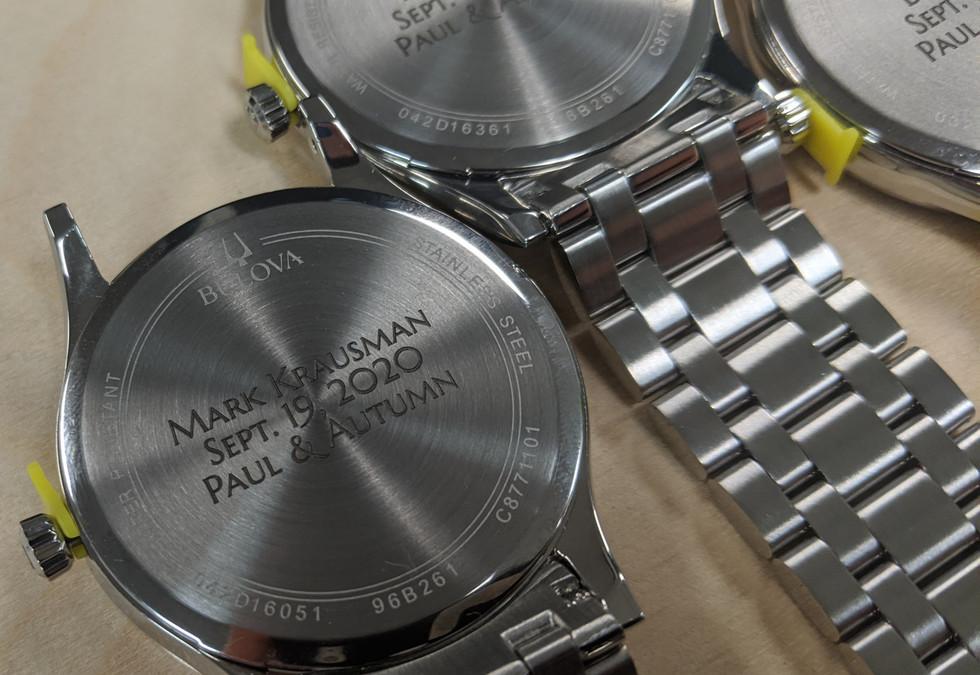 Groomsmen Watch Engraving