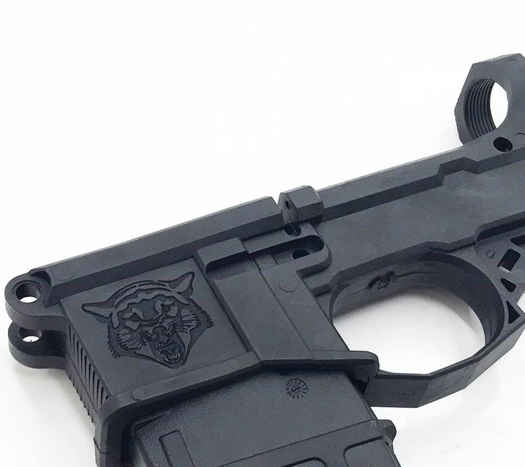 Polymer AR-15 Magwell Engraving   Rochester Local