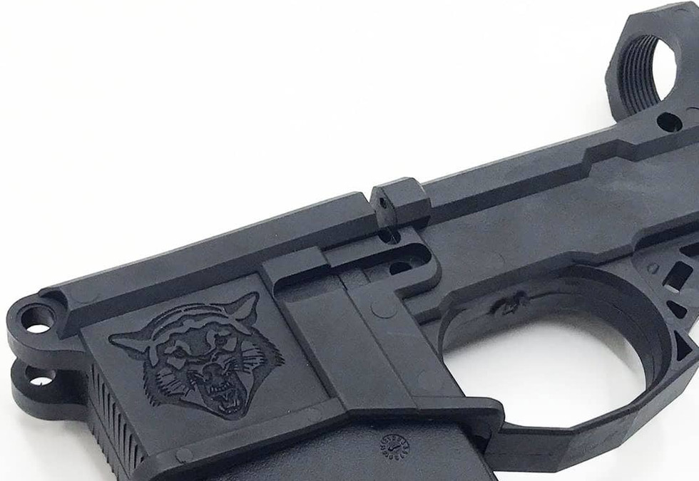 Polymer AR-15 Magwell Engraving | Rochester Local