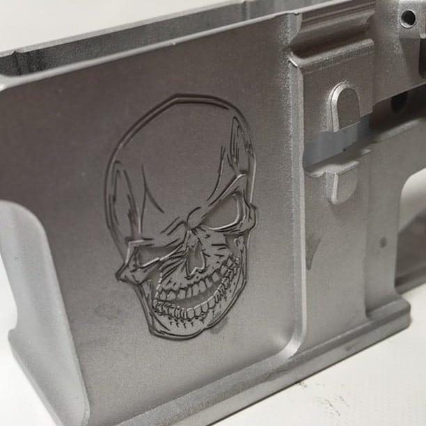 Skull Firearm Engraving   Penfield, NY