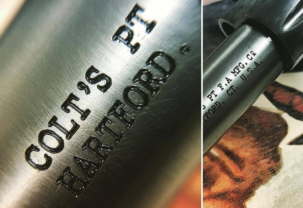 Colt Restoration Gun Project | Monroe County's BEST Laser Engraver
