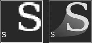 S Raster vs S Vector | Raster Vector Comparison
