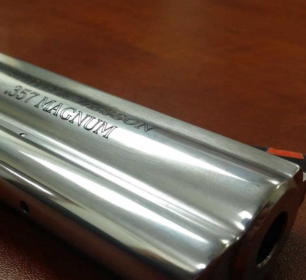 Gun Restoration   Revolver Engraving Restoration   Local Engraving Expert