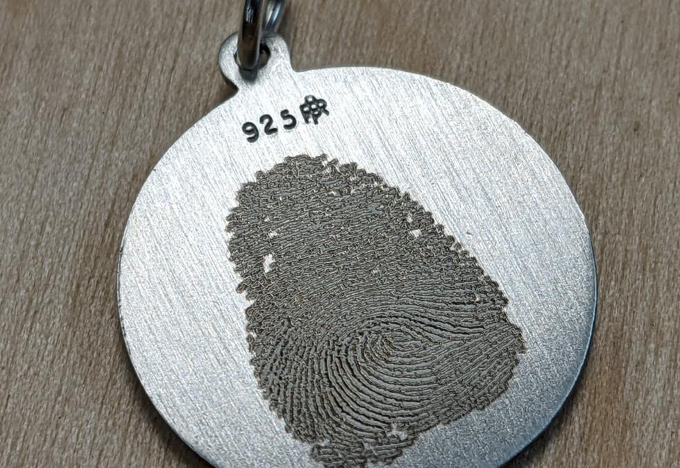 Finger Print Pendant