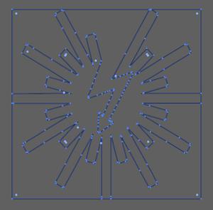 Vector Image of Monroe Laser Engraving Logo