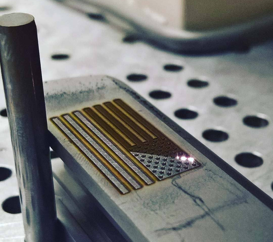 Rochester, NY   Advancing American Flag Engraving
