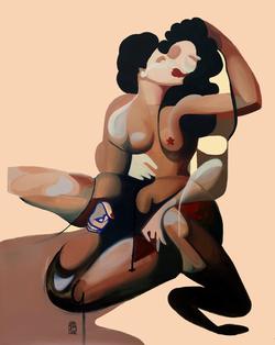 Jean-Pierre Villafañe - Lovers Embracing III