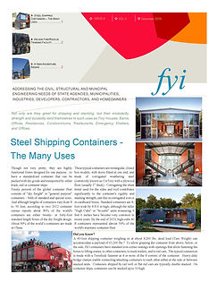 Pages from Shpping Containers Newsletter