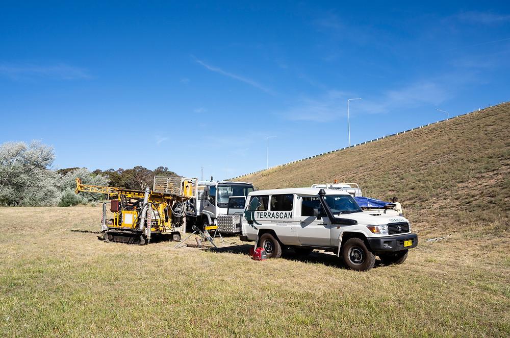 Terrascan 4x4 Logging unit in Canberra