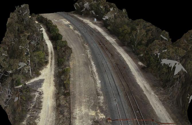 Aerial Survey of Rail Corridor