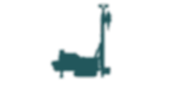 Drill rig Green - Blank background_edite